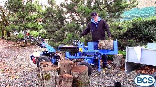 Log Splitter Video