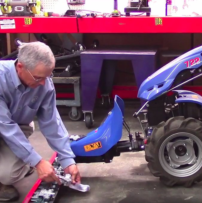 Assembling the BCS Sickle Bar Mower Attachment